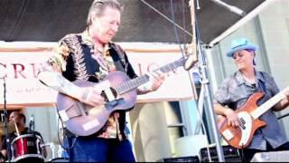 "Ron Hacker & The Hacksaws ""Two Timing Woman"", Redwood City Blues Fest 7/28/12"