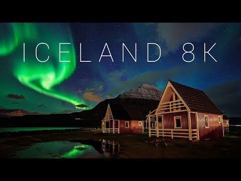 Iceland 8K - A Timelapse Landscape Adventure