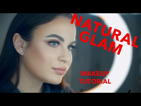 EASY NATURAL MAKEUP TUTORIAL||GLOW SKIN thumbnail