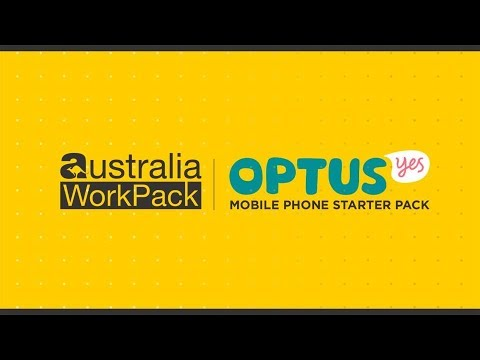 Setting up your Austraian Optus Prepaid SIM