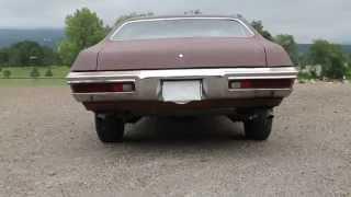1972 Lemans Exhaust