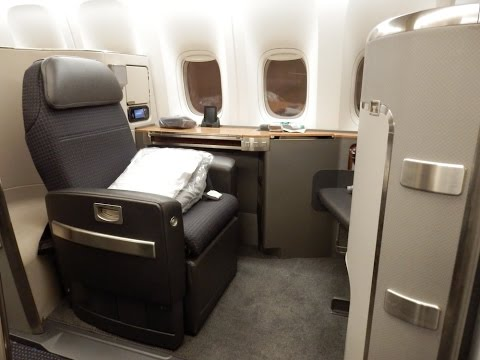 American Airlines B777-300ER First Class New York To London (+ JFK Flagship Lounge)
