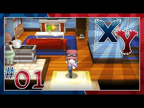 Pokémon X and Y Walkthrough (After Game) - Part 1: Sycamore's Ticket to Kiloude City