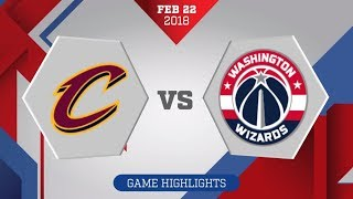Washington Wizards vs. Cleveland Cavali...