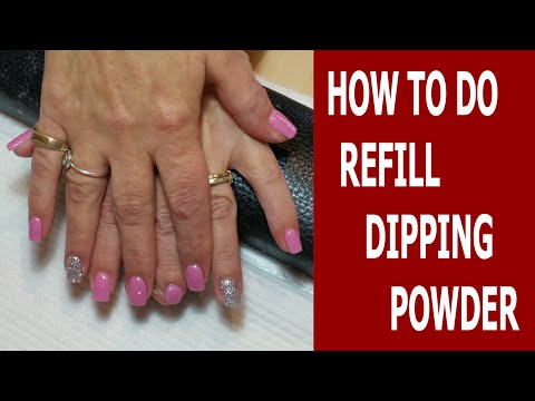 How to Do Refill Sns Nails Dipping Powder