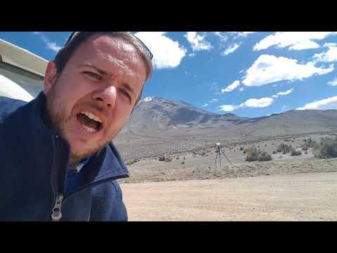 Fieldwork and workshop on Peruvian volcanoes: the journey begins