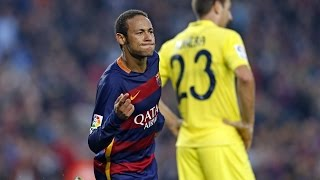Neymar's wonder goal against Villarreal - Puskas Award candidate 2016