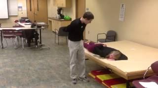 Mmt Scapular Adduction & Downward Rotation