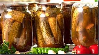 Каждый год делаю и ВСЕГДА МАЛО - Огурцы с кетчупом Чили