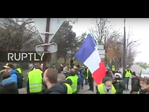 LIVE ''Yellow Vest' protests hit Paris for the seventh week in a row'
