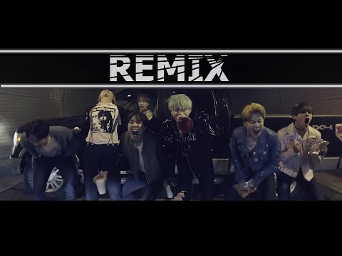 BTS (방탄소년단) - Run - (First Nuclo Remix\Mashup) MV