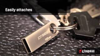 Kingston DataTraveler SE9 Flash Drives - Award-Winning Portable Storage Design