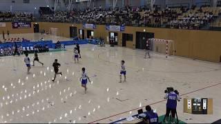 2018IH  ハンドボール 女子 準々決勝 不来方(岩手県)対 高水(山口県)