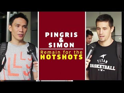 Pingris and Simon Remain for the Hotshots   PBA S42 Pre-Season