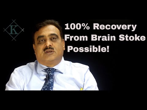 How to cure Brain stroke in Hindi By Kailash Mantry  life Coach