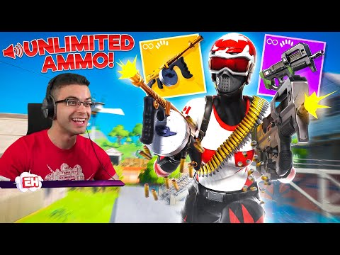 Fortnite But...UNLIMITED AMMO?!
