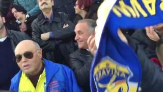 Fbc Gravina - Asd Nocerina, la festa della tifoseria gravinese