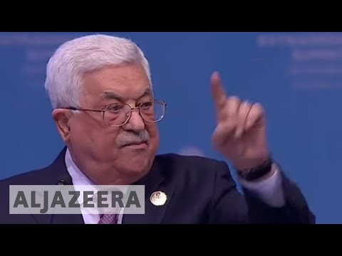 Palestine president | US can no longer mediate peace process