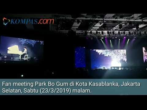 Park Bo Gum Nyanyikan Lagu Chrisye Di Fan Meeting Jakarta