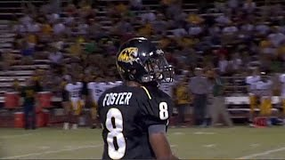 Arizona State Running Back D.J. Foster in High School Game vs Canyon del Oro