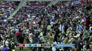 Rodney Stuckey nasty dunk on Chris Bosh (Mar 23, 2011)