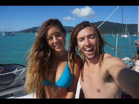 Sailing Nandji - Exploring the great barrier reef & Autopilot fixed!