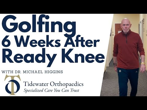 Golfing & Riding A Bike After Ready Knee with Dr. Michael Higgins