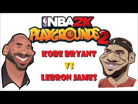 Kobe vs Lebron : nba 2k playgrounds 2 / Game play |