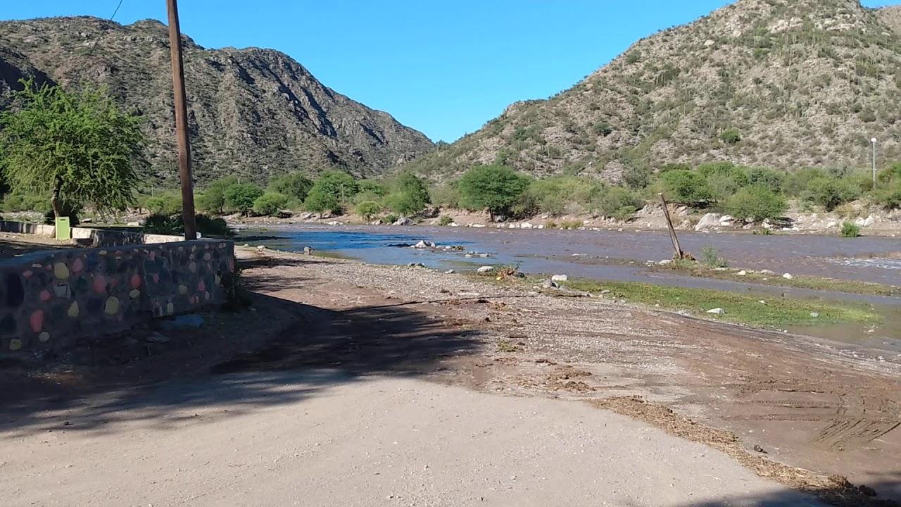 Creciente en Río Valle Fértil 27/12/20