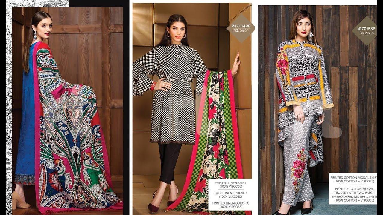 760f57c62f Nishat Linen Winter Dresses Collection 2017- 2018 - YouTube
