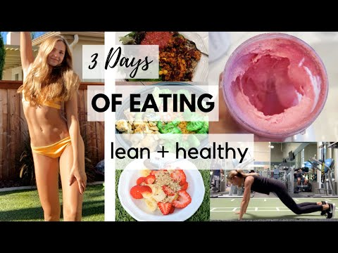 REALISTIC What I Eat In A Day (how I got my Abs & stay Lean) | Ashley Lynn