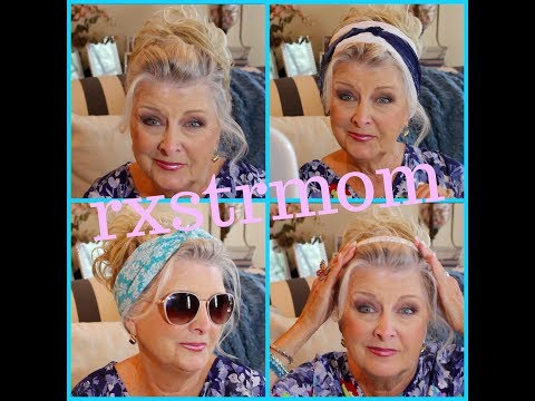 Hair ~ How I Do My Updo !! ~ The Aging Face 🦋