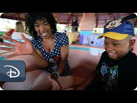 Angela Bassett & Courtney B. Vance | Walt Disney World