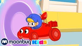 My Magic Time Racer   Cars, Trucks & Vehicles Cartoon   Moonbug Kids