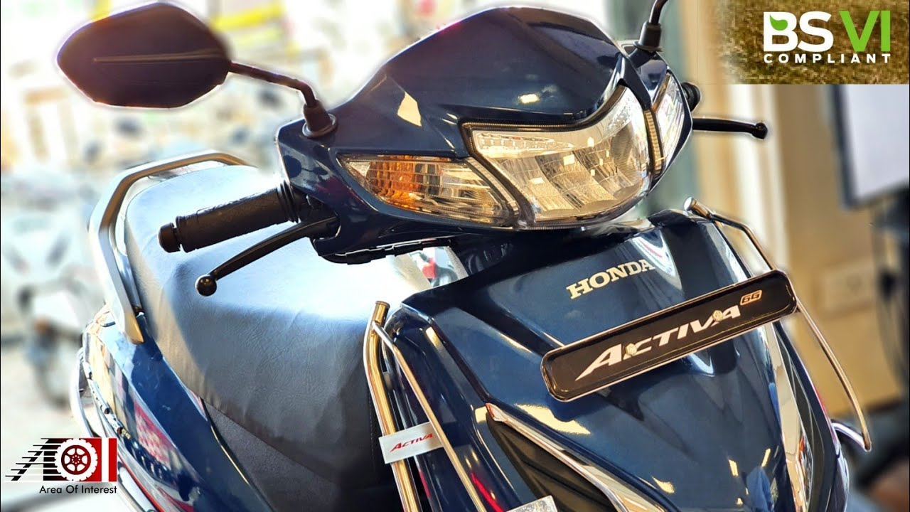2020 Honda Activa 6g Bs6 Dlx With Accessories Colours Price Mileage Features Specs Youtube
