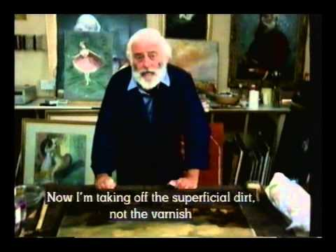 Tom Keating On Painters   E06   Restoring Pictures