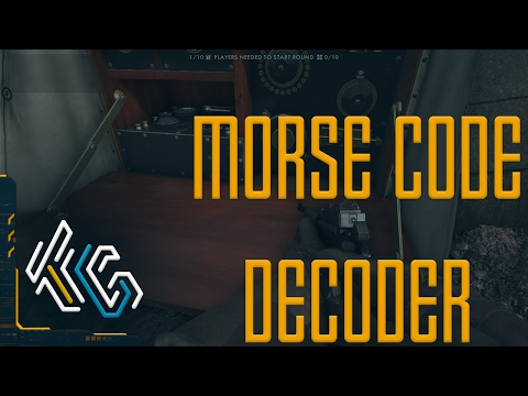 How To: Decode BF1 Easter Egg Morse Code