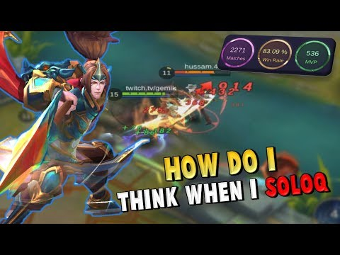 IN THE HEAD OF A GLORIOUS LEGEND #1 – YUN ZHAO GAMEPLAY WITH COMMENTARY - Mobile Legends