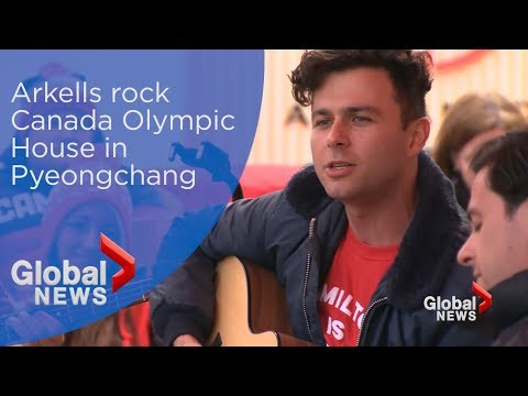 Arkells rock Canada Olympic House in Pyeongchang
