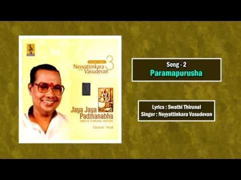 Paramapurusha - a carnatic classical vocal concert by Neyyattinkara Vasudevan