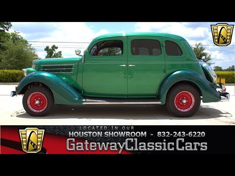 1936 Ford Special Deluxe Gateway Classic Cars #1246 Houston Showroom