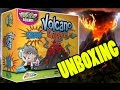 VOLCANO ERUPTION game UNBOXING. Volcano Eruption game | Beau's Toy Farm