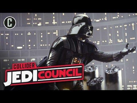 The Empire Strikes Back Original Script Hints that Darth Vader Killed Anakin - Jedi Council