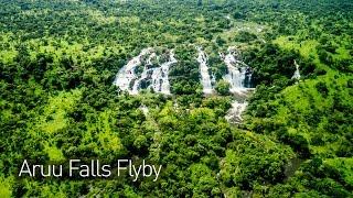 Aruu Falls FlyBy