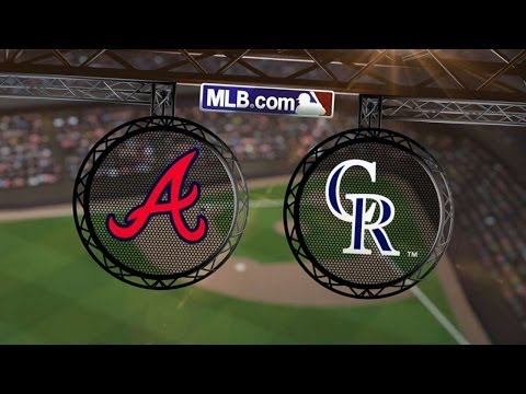 6/9/14: Floyd and Braves 'pen quiet Rockies bats