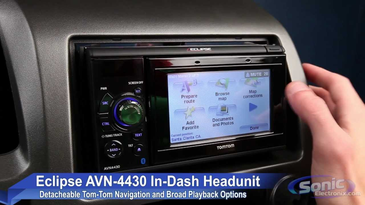 small resolution of eclipse avn4430 bluetooth and navigation car receiver