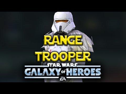 Range Trooper Gameplay - Star Wars: Galaxy Of Heroes - SWGOH