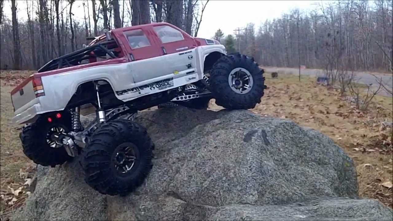 White Ford Raptor >> axial proline wraith topkick incline test i'd say it ...