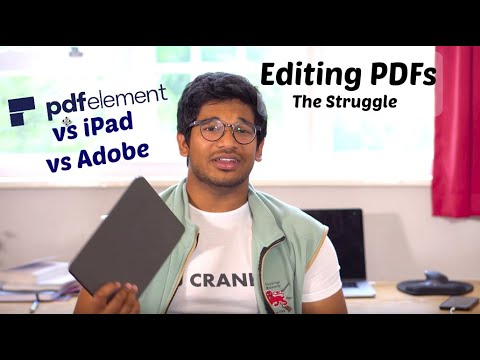 Best PDF Editing Software FOR STUDENTS | PDFelement Vs Adobe Acrobat Vs IPad