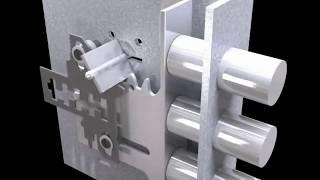 О том как запросто можно вскрыть любой механический замок